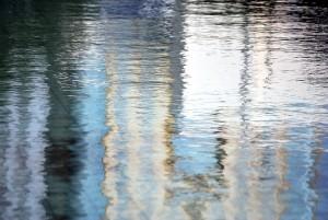 Zdjęcie powierzchni wody (jezioro)